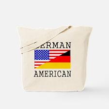 German American Flag Tote Bag