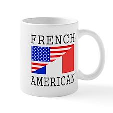 French American Flag Mugs