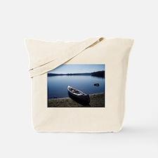 Scenic Canoe Tote Bag