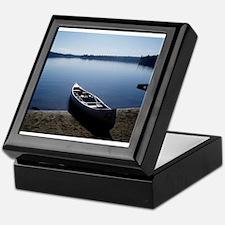 Scenic Canoe Keepsake Box