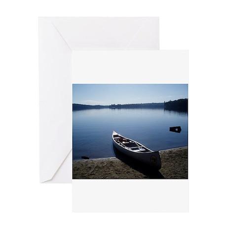 Scenic Canoe Greeting Card