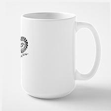 It's a geocaching thing Large Mug