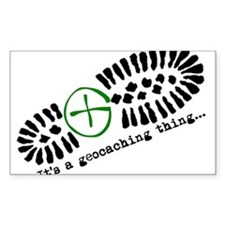 It's a geocaching thing Decal