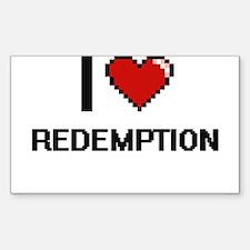 I Love Redemption Digital Design Decal