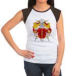 Diez Family Crest Women's Cap Sleeve T-Shirt