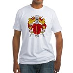 Diez Family Crest Fitted T-Shirt
