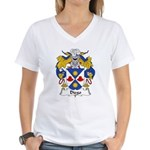 Diego Family Crest Women's V-Neck T-Shirt