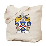 Diego Family Crest Tote Bag