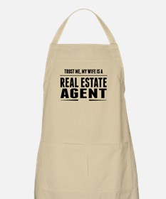 My Wife Is A Real Estate Agent Apron