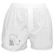 Holiday Geocacher Boxer Shorts