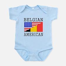 Belgian American Flag Body Suit