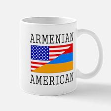 Armenian American Flag Mugs