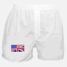 British American Flag Boxer Shorts