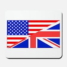 British American Flag Mousepad