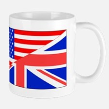 British American Flag Mugs