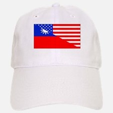 Taiwanese American Flag Baseball Baseball Baseball Cap
