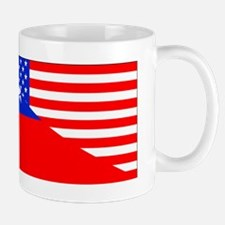 Taiwanese American Flag Mugs