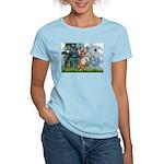 Lilies & Chihuahua Women's Light T-Shirt