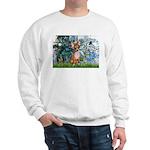 Lilies & Chihuahua Sweatshirt