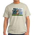 Lilies & Chihuahua Light T-Shirt