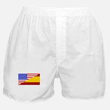 Spanish American Flag Boxer Shorts