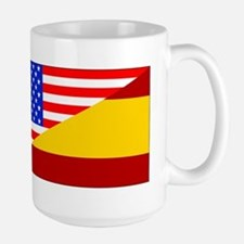 Spanish American Flag Mugs
