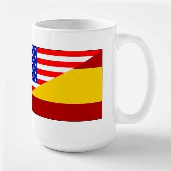 Spanish American Flag Mugs