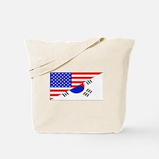 Korean American Flag Tote Bag