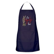 Is the Trophy In Play? Dark Apron