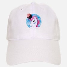 Cupcake the Unicorn Baseball Baseball Cap