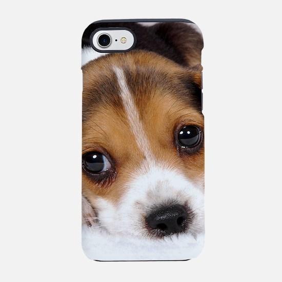 Cute Puppy iPhone 8/7 Tough Case
