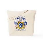 Delgadillo Family Crest Tote Bag
