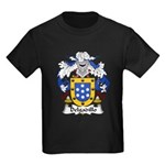 Delgadillo Family Crest Kids Dark T-Shirt