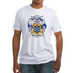 Delgadillo Family Crest Fitted T-Shirt