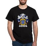 Delgadillo Family Crest Dark T-Shirt