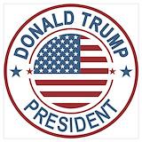 Trump president Posters