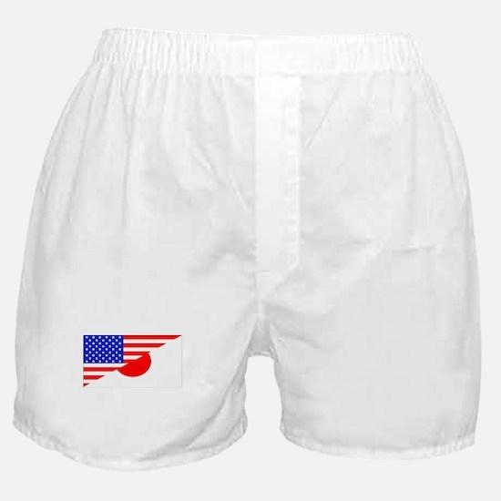 Japanese American Flag Boxer Shorts