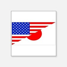 Japanese American Flag Sticker