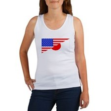Japanese American Flag Tank Top