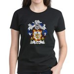 Dato Family Crest Women's Dark T-Shirt
