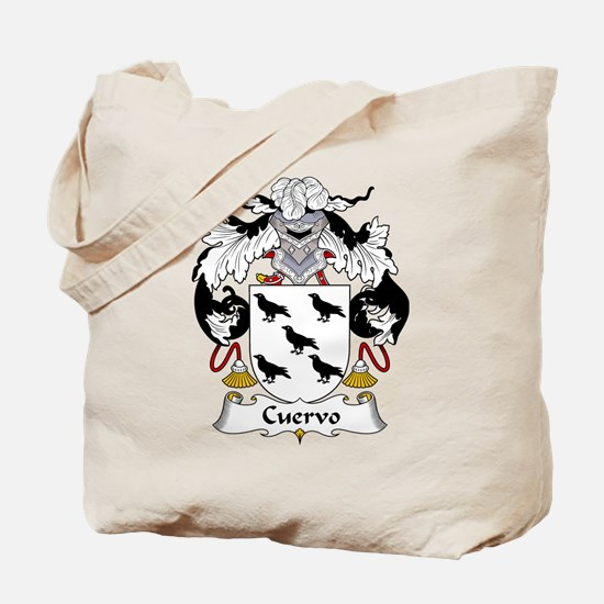 Cuervo Family Crest Tote Bag