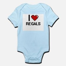 I Love Regals Digital Design Body Suit