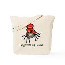 Hip Hop Spider Tote Bag