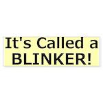 Blinker Bumper Sticker Bumper Sticker
