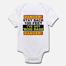 'Roid Rage Infant Bodysuit