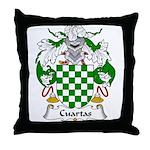 Cuartas Family Crest Throw Pillow