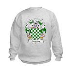 Cuartas Family Crest Kids Sweatshirt