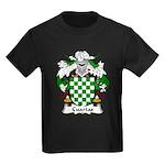 Cuartas Family Crest Kids Dark T-Shirt