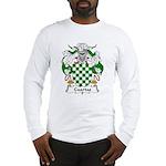 Cuartas Family Crest Long Sleeve T-Shirt