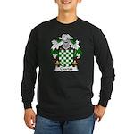 Cuartas Family Crest Long Sleeve Dark T-Shirt